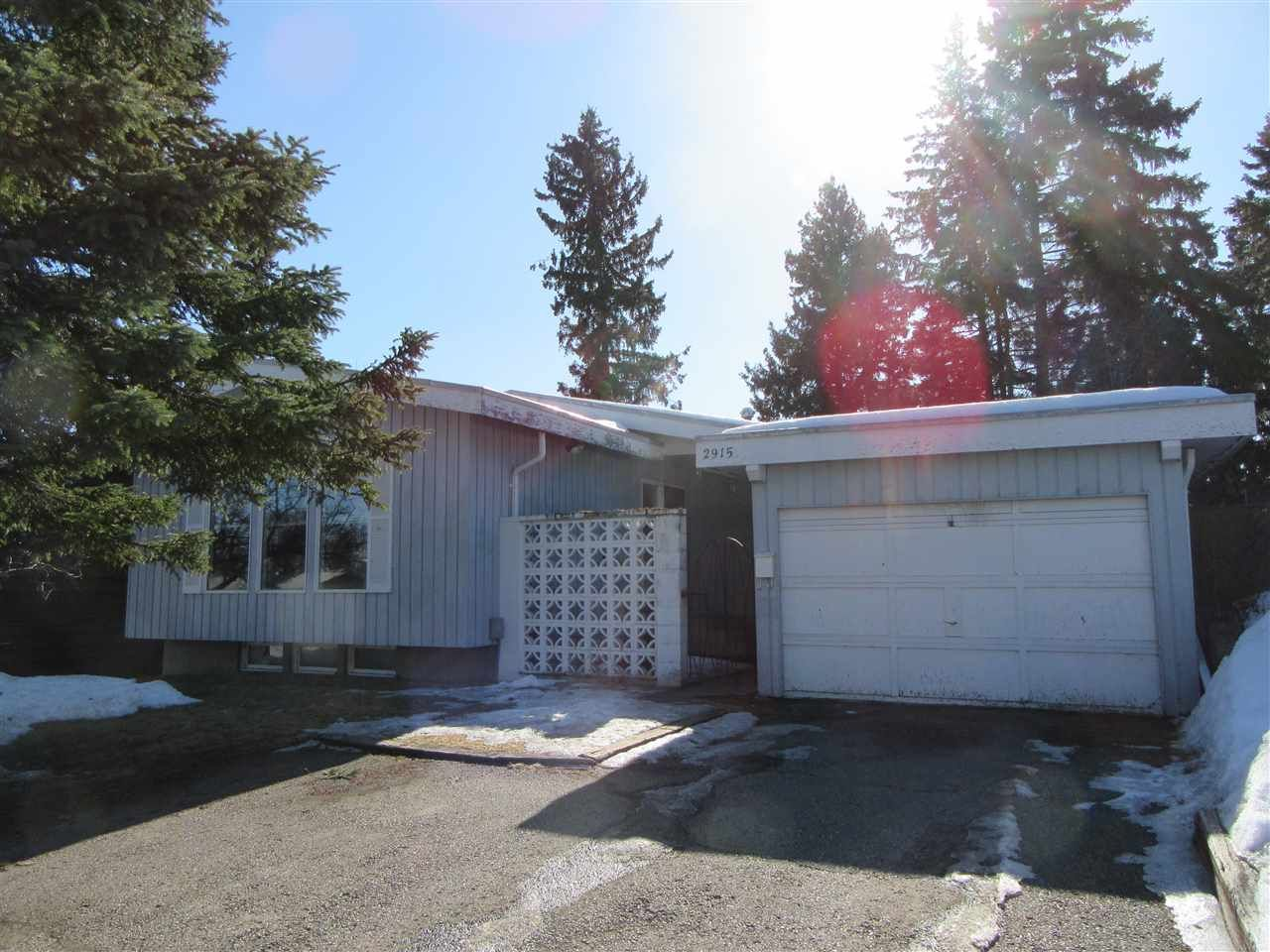 "Photo 1: Photos: 2915 PINEWOOD Avenue in Prince George: Westwood House for sale in ""WESTWOOD"" (PG City West (Zone 71))  : MLS®# R2548927"