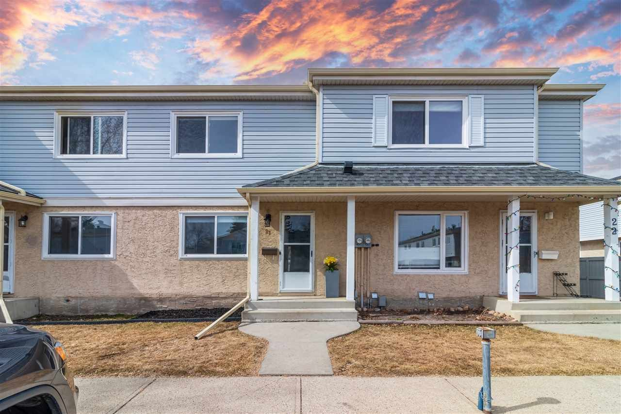 Main Photo: 21 2030 BRENTWOOD Boulevard: Sherwood Park Townhouse for sale : MLS®# E4237328