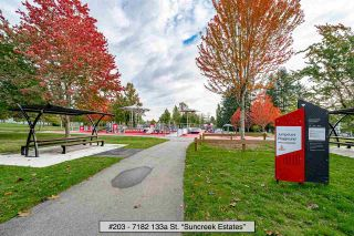 "Photo 26: 203 7182 133A Street in Surrey: West Newton Townhouse for sale in ""Suncreek Estates"" : MLS®# R2538111"
