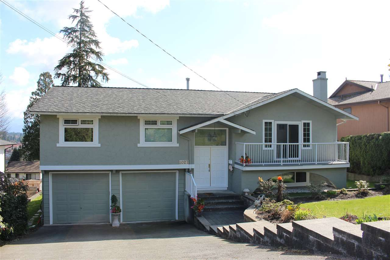 Main Photo: 1027 PALMDALE STREET in Coquitlam: Ranch Park House for sale : MLS®# R2253459