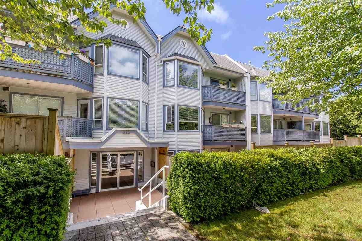 """Main Photo: 105 315 E 3RD Street in North Vancouver: Lower Lonsdale Condo for sale in """"Dunberton Manor"""" : MLS®# R2286632"""