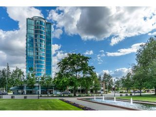 """Photo 1: 1402 32330 SOUTH FRASER Way in Abbotsford: Abbotsford West Condo for sale in """"TOWN CENTER TOWER"""" : MLS®# R2521811"""