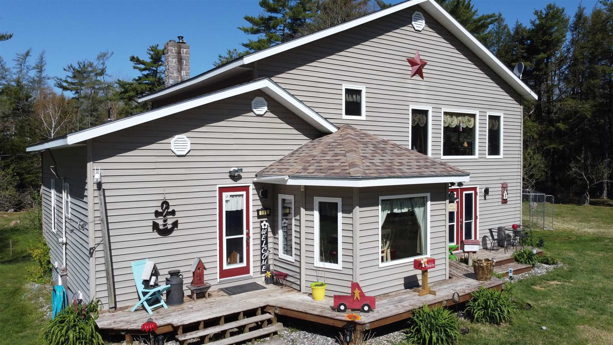 Main Photo: 195 Back Lake Road in Upper Ohio: 407-Shelburne County Residential for sale (South Shore)  : MLS®# 202112479