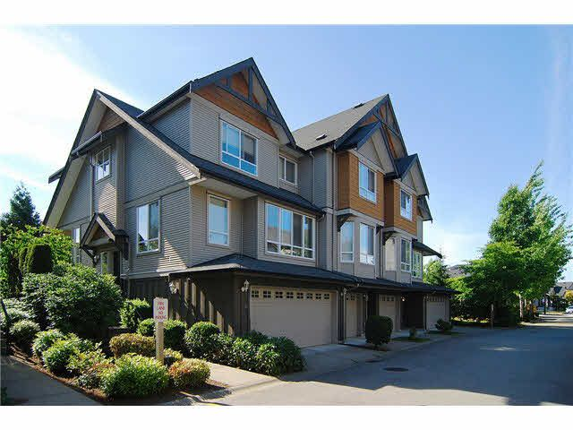"""Main Photo: 3 16772 61 Avenue in Surrey: Cloverdale BC Townhouse for sale in """"Laredo"""" (Cloverdale)  : MLS®# F1443563"""