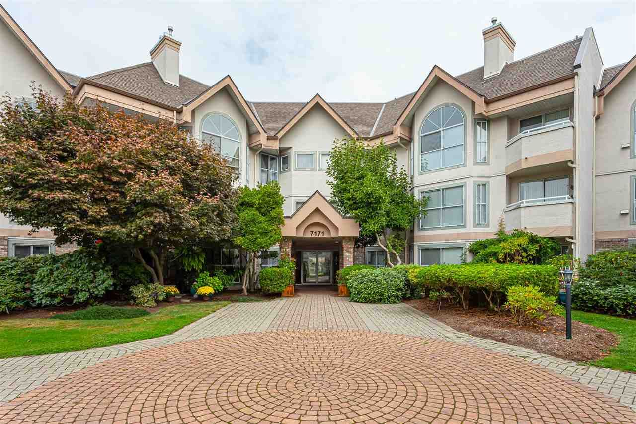 "Main Photo: 118 7171 121 Street in Surrey: West Newton Condo for sale in ""Highlands"" : MLS®# R2542652"