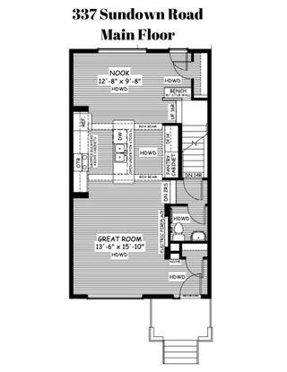 Photo 4: 337 Sundown Road: Cochrane Detached for sale : MLS®# A1049758