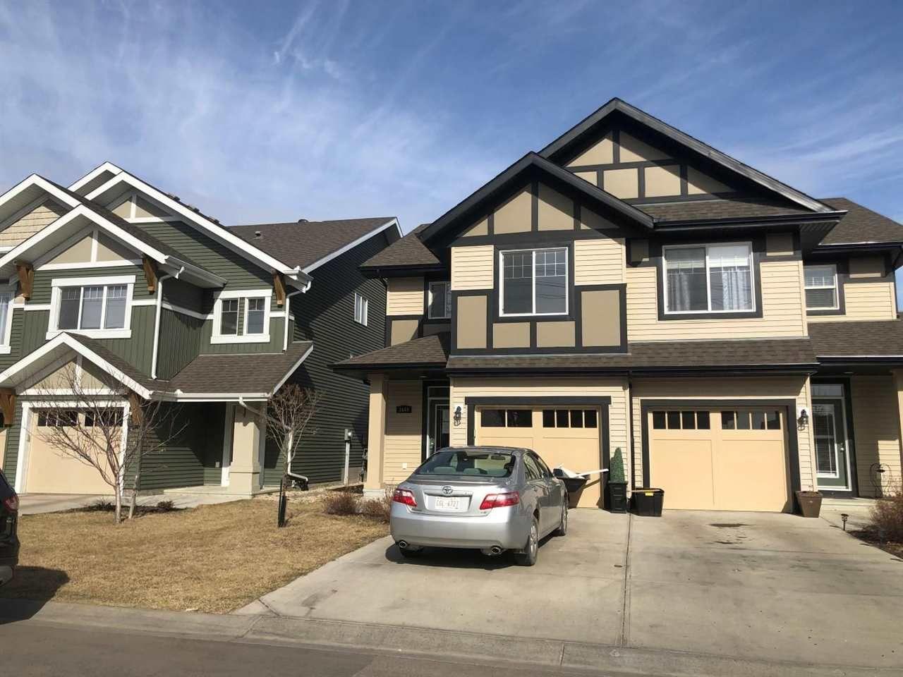 Main Photo:  in Edmonton: Zone 55 House Half Duplex for sale : MLS®# E4242037