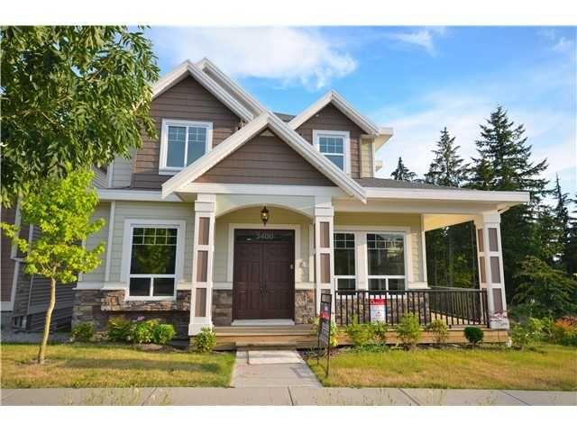 Main Photo: 3400 GISLASON AV in Coquitlam: Burke Mountain House for sale : MLS®# V1002813