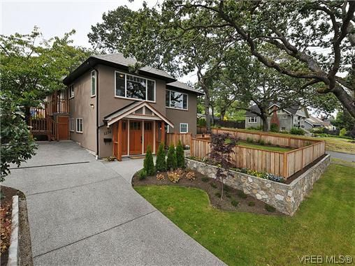 Main Photo: 1274 Vista Hts in VICTORIA: Vi Hillside Half Duplex for sale (Victoria)  : MLS®# 611096