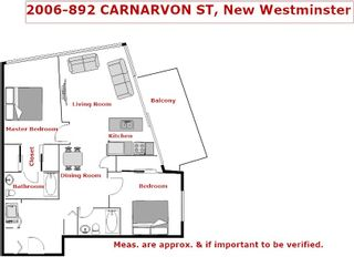 Photo 20: 2006 892 CARNARVON STREET in New Westminster: Downtown NW Condo for sale : MLS®# R2169882