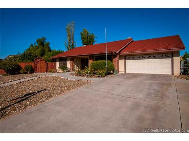 Main Photo: POWAY House for sale : 3 bedrooms : 13271 Wanesta Drive