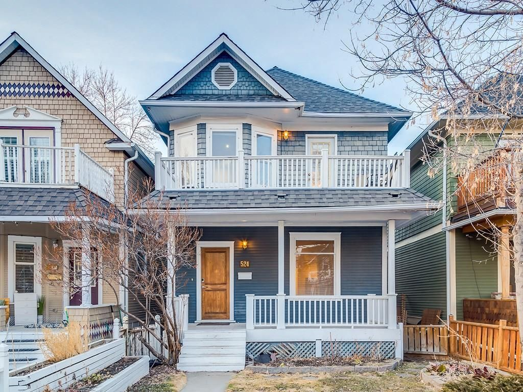 Main Photo: 524 19 Avenue SW in Calgary: Cliff Bungalow Detached for sale : MLS®# C4198787