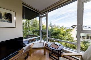 """Photo 12: 505 1650 W 7TH Avenue in Vancouver: Fairview VW Condo for sale in """"VIRTU"""" (Vancouver West)  : MLS®# R2609277"""