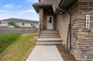 Photo 1: 4091 ALLAN Crescent in Edmonton: Zone 56 House Half Duplex for sale : MLS®# E4255510