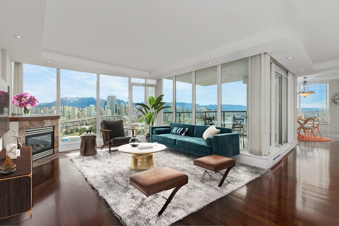 """Main Photo: 1403 1428 W 6TH Avenue in Vancouver: Fairview VW Condo for sale in """"SIENA OF PORTICO"""" (Vancouver West)  : MLS®# R2561112"""