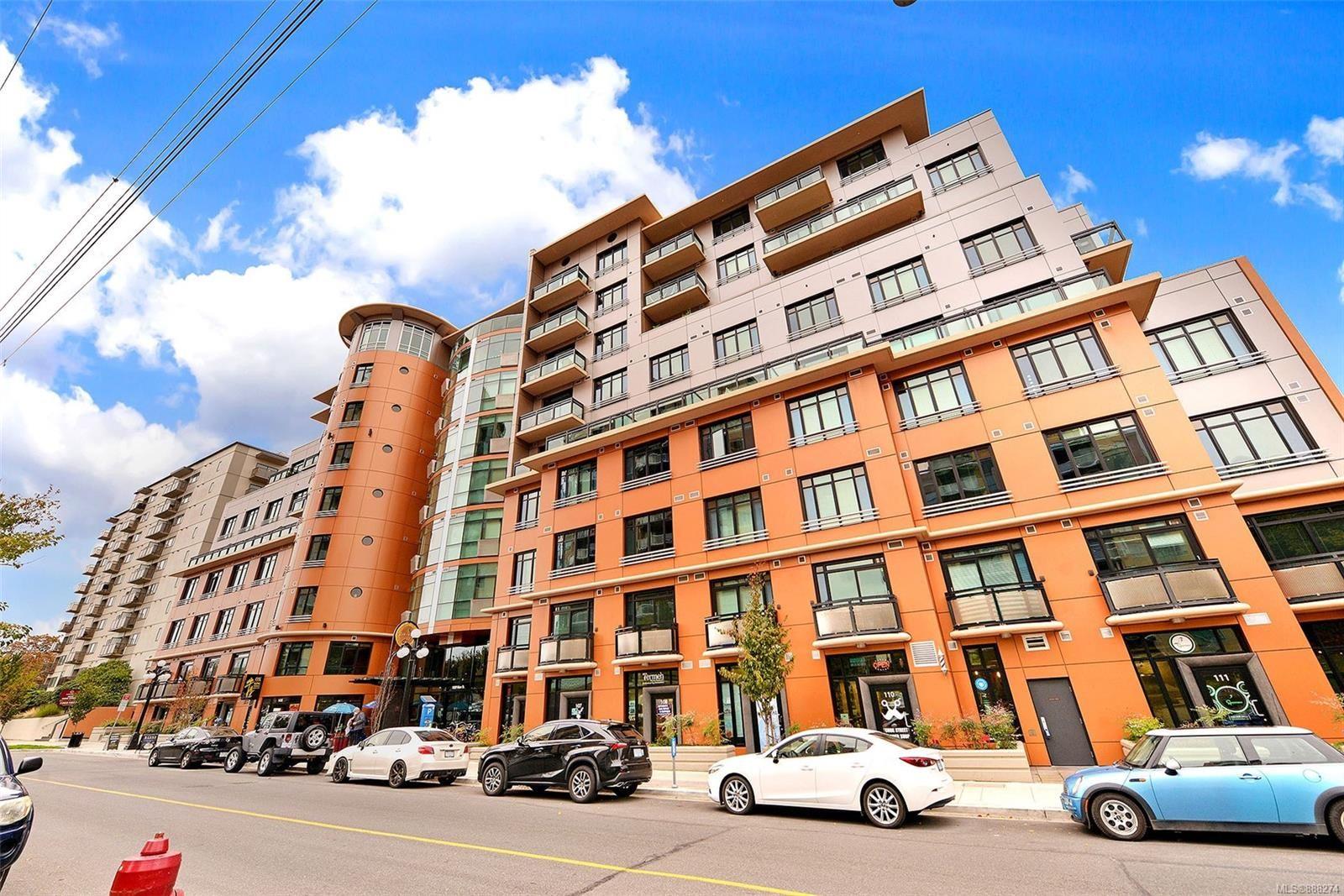 Main Photo: 411 1029 VIEW St in : Vi Downtown Condo for sale (Victoria)  : MLS®# 888274