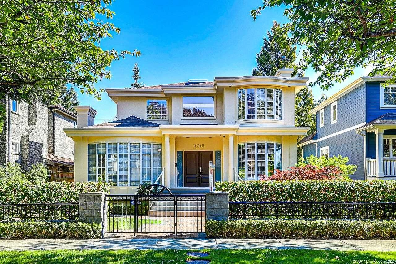 Main Photo: 2768 W 18TH Avenue in Vancouver: Arbutus House for sale (Vancouver West)  : MLS®# R2593827