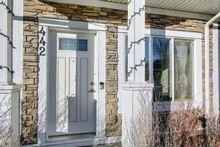 Photo 2: 442 Nolan Hill Boulevard NW in Calgary: Nolan Hill Row/Townhouse for sale : MLS®# A1073162