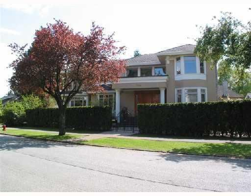 "Main Photo: 1188 W 32ND Avenue in Vancouver: Shaughnessy House for sale in ""SHAUGHNESSY"" (Vancouver West)  : MLS®# V759832"