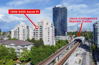 """Photo 1: 1206 3455 ASCOT Place in Vancouver: Collingwood VE Condo for sale in """"QUEENS COURT"""" (Vancouver East)  : MLS®# R2564219"""