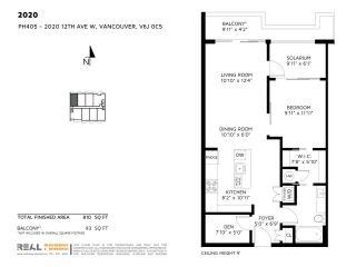 """Photo 15: 405 2020 W 12TH Avenue in Vancouver: Kitsilano Condo for sale in """"2020"""" (Vancouver West)  : MLS®# R2166280"""