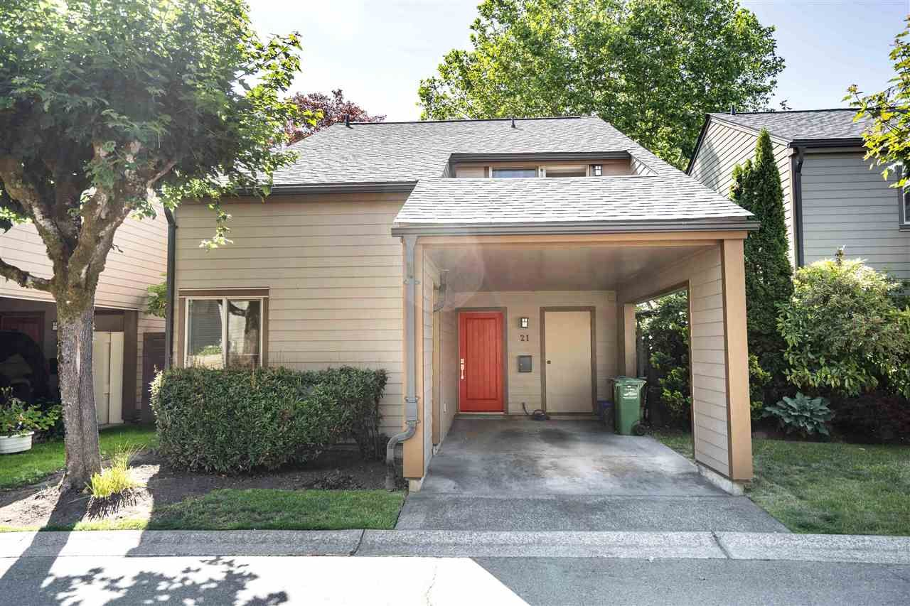 Main Photo: 21 6871 FRANCIS ROAD in : Woodwards Townhouse for sale : MLS®# R2398384