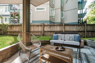 """Photo 1: 102 1883 E 10TH Avenue in Vancouver: Grandview Woodland Condo for sale in """"Royal Victoria"""" (Vancouver East)  : MLS®# R2625625"""