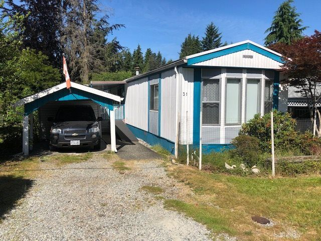 """Main Photo: 31 12868 229 Street in Maple Ridge: East Central Manufactured Home for sale in """"ALOUETTE SENIORS MOBILE HOME PARK"""" : MLS®# R2381386"""