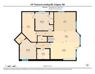 Photo 38: 147 Taracove Landing NE in Calgary: Taradale Detached for sale : MLS®# A1144169