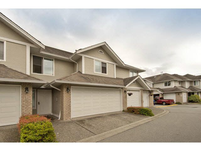 Main Photo: 8 1370 RIVERWOOD GATE in PORT COQ: Riverwood Townhouse for sale (Port Coquitlam)  : MLS®# V1142830