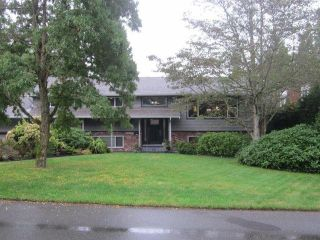 """Photo 1: 12356 SEACREST Drive in Surrey: Crescent Bch Ocean Pk. House for sale in """"CRFESCENT HEIGHTS"""" (South Surrey White Rock)  : MLS®# F1320690"""