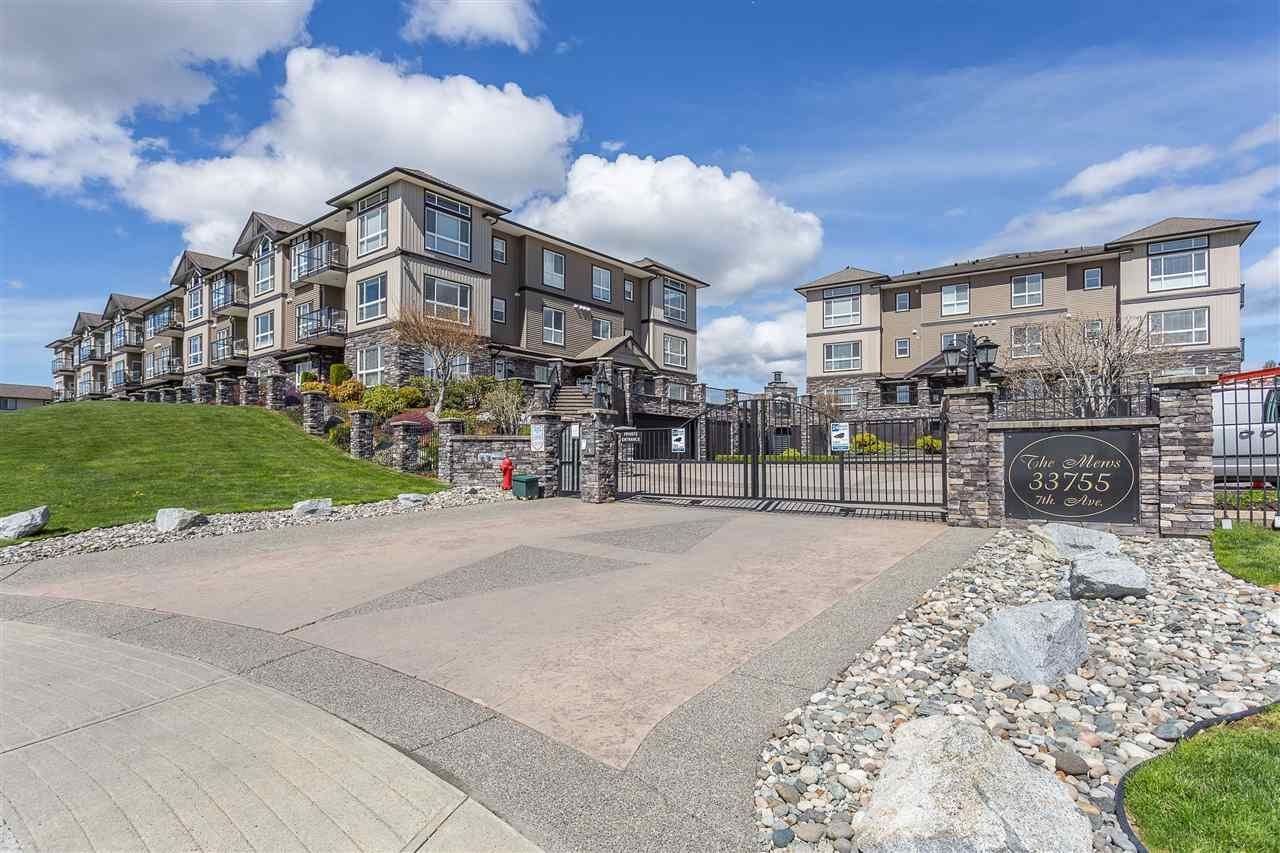 "Main Photo: A216 33755 7TH Avenue in Mission: Mission BC Condo for sale in ""THE MEWS"" : MLS®# R2402981"