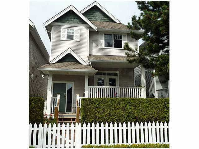Main Photo: #6 - 4111 Garry St, in Richmond: Steveston South Townhouse for sale : MLS®# V945888