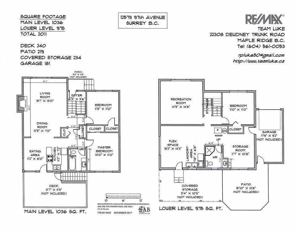 Photo 2: Photos: 12579 97 Avenue in Surrey: Cedar Hills House for sale (North Surrey)  : MLS®# R2225806