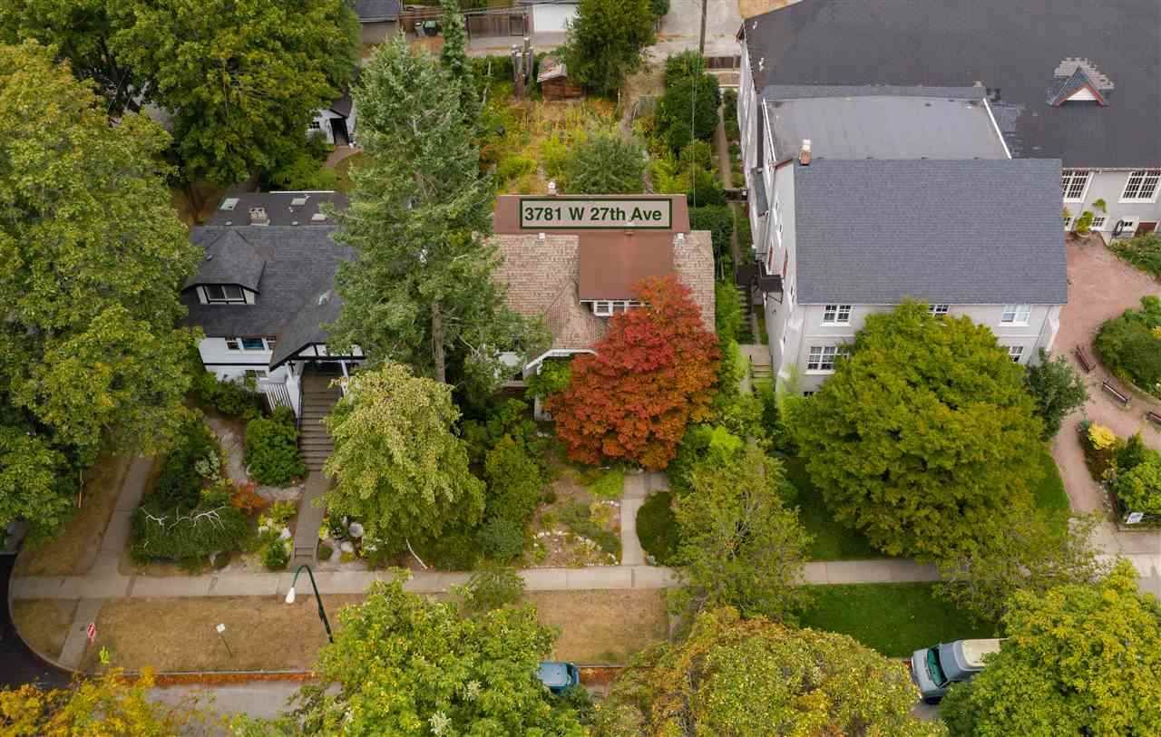 Main Photo: 3781 W 27TH Avenue in Vancouver: Dunbar House for sale (Vancouver West)  : MLS®# R2552319