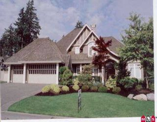 """Photo 1: 2309 133RD ST in White Rock: Elgin Chantrell House for sale in """"BRIDLEWOOD WEST"""" (South Surrey White Rock)  : MLS®# F2613674"""