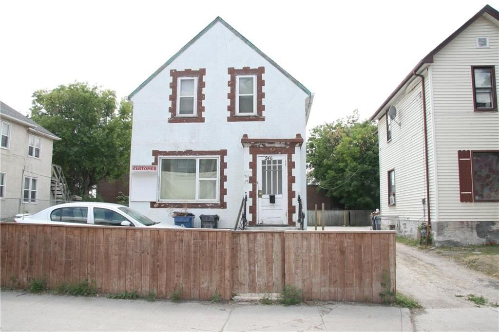 Main Photo: 246 Selkirk Avenue in Winnipeg: North End Residential for sale (4A)  : MLS®# 202117843