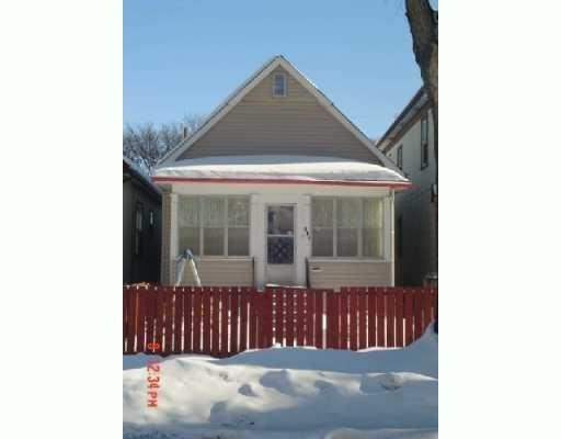 Main Photo: 941 INGERSOLL Street in WINNIPEG: West End / Wolseley Single Family Detached for sale (West Winnipeg)  : MLS®# 2701654