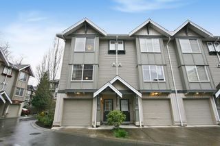 "Photo 1: 53 6651 203 Street in Langley: Willoughby Heights Townhouse for sale in ""SUNSCAPE"" : MLS®# R2049263"