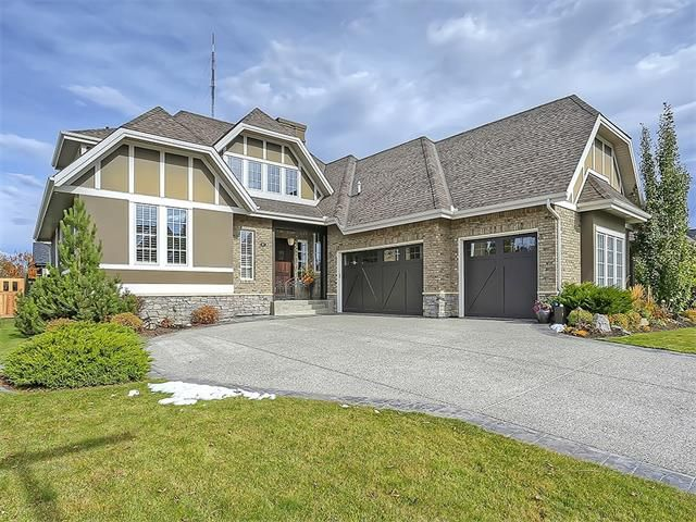 Main Photo: 87 WENTWORTH Terrace SW in Calgary: West Springs House for sale : MLS®# C4109361