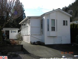 """Main Photo: 32 14600 MORRIS VALLEY Road in Agassiz: Hemlock Manufactured Home for sale in """"Tapadera Estates"""" (Mission)  : MLS®# F1106180"""