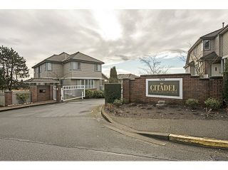 "Photo 1: 31 920 CITADEL Drive in Port Coquitlam: Citadel PQ Townhouse for sale in ""Citadel Green"" : MLS®# V1046461"
