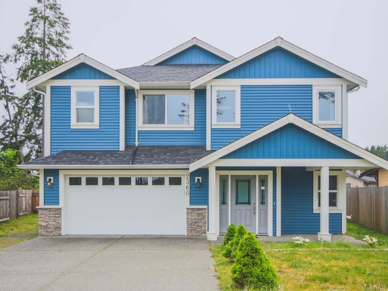 Main Photo: 2360 Mandalik Pl in NANAIMO: Na Diver Lake House for sale (Nanaimo)  : MLS®# 814371