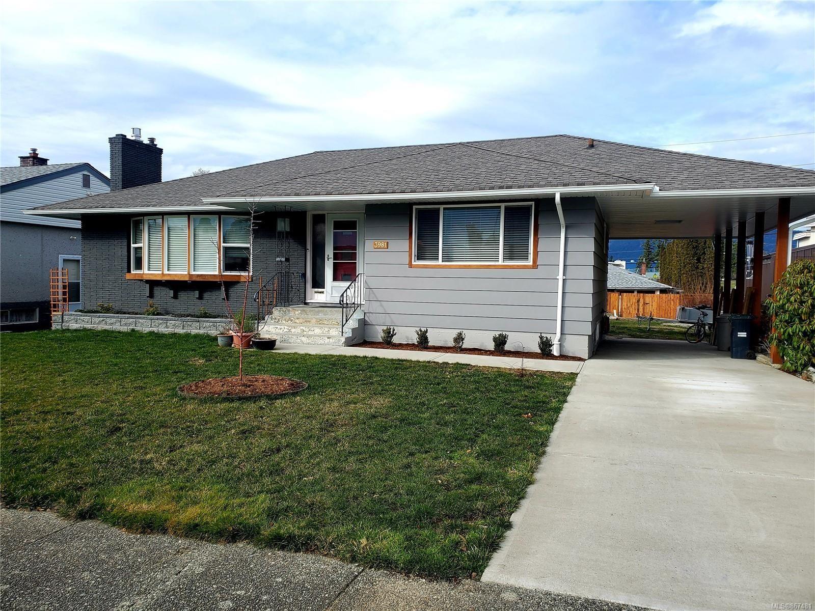 Main Photo: 3981 Exton St in : PA Port Alberni House for sale (Port Alberni)  : MLS®# 867481