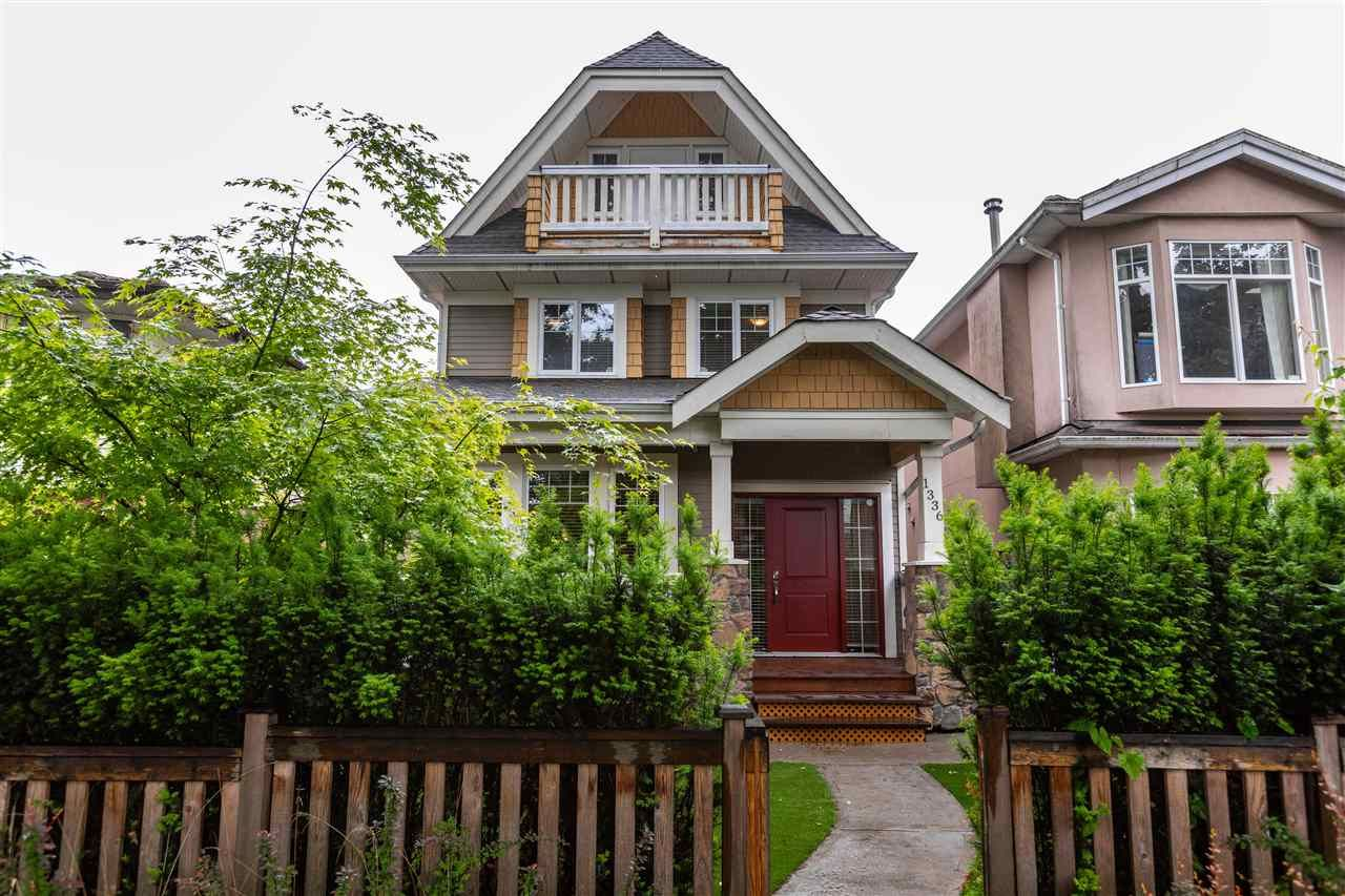 Main Photo: 1336 E 23RD Avenue in Vancouver: Knight 1/2 Duplex for sale (Vancouver East)  : MLS®# R2459298