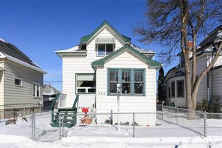 Photo 2: 241 Martin Avenue in Winnipeg: Elmwood Residential for sale (3A)  : MLS®# 202103155