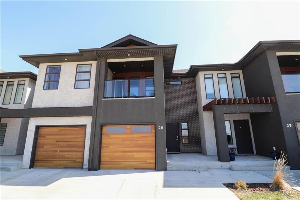 Main Photo: 28 340 John Angus Drive in Winnipeg: South Pointe Condominium for sale (1R)  : MLS®# 202109928