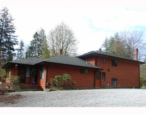 Main Photo: 11319 280TH Street in Maple_Ridge: Whonnock House for sale (Maple Ridge)  : MLS®# V760444