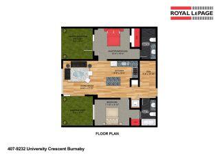 "Photo 33: 407 9232 UNIVERSITY Crescent in Burnaby: Simon Fraser Univer. Condo for sale in ""NOVO TWO"" (Burnaby North)  : MLS®# R2587508"