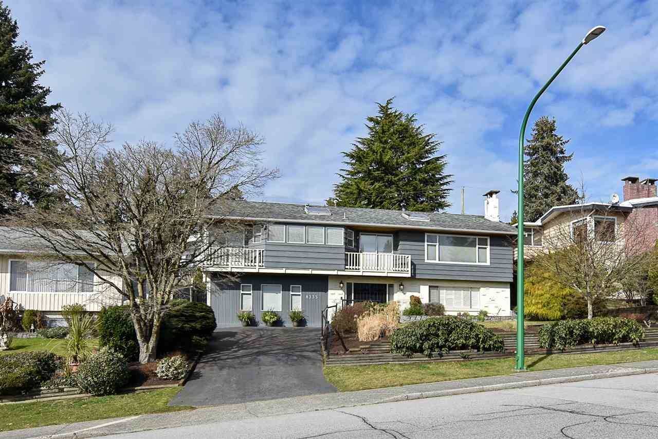 Main Photo: 8335 NELSON Avenue in Burnaby: South Slope House for sale (Burnaby South)  : MLS®# R2550990